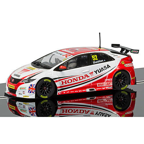 SCALEXTRIC Slot Car C3783 BTCC Gordon Shedden Honda Civic Type R
