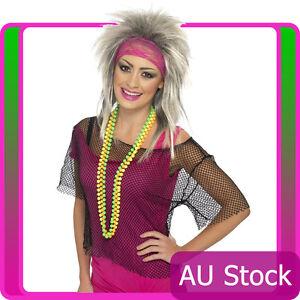 String-Vest-Mash-Top-80s-Costume-Net-Neon-Punk-Rocker-Fishnet-Rockstar-Dance