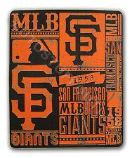 """New Baseball San Francisco Giants Fleece Throw Blanket 50"""" x  60"""""""