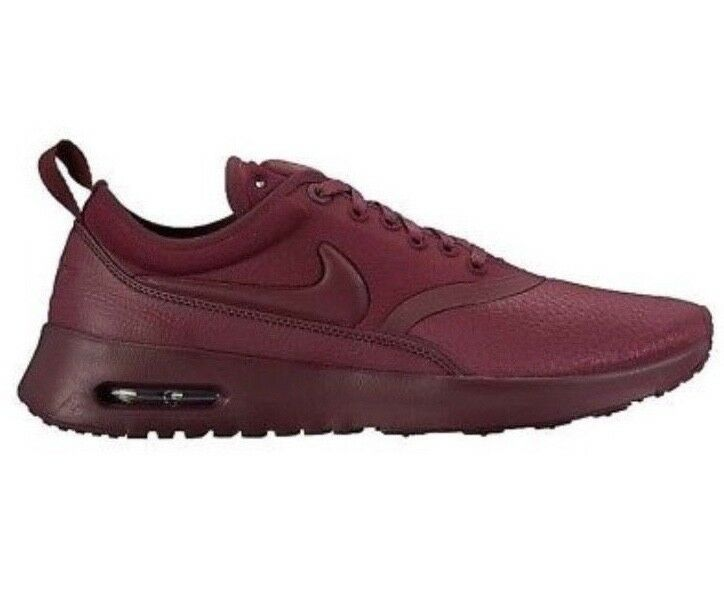 Nike Air Max Thea Ultra Premium 848279600 Women Trainers UK Size 4.5 Red (66)