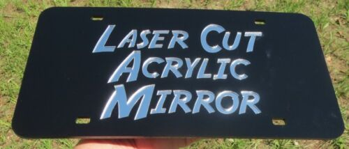 Florida cracker laser cut acrylic inlaid license plate mirror redneck 3-D Look
