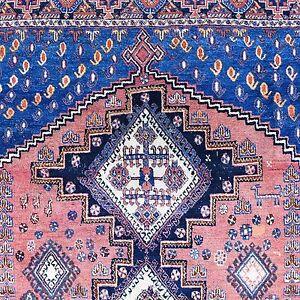 Antiquitäten & Kunst Persische Teppiche GroßZüGig Antik Afshar Orient-teppich Fein Wolle 173x134 Cm Rug Tappeto Tapis Alfombra