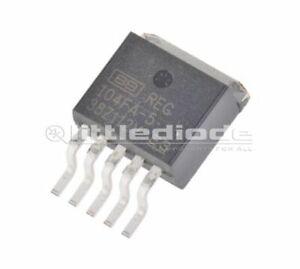 Texas-Instruments-REG104FA-5KTTT-LDO-Regulator-1A-5-V-2-2-1-15-Vin-5-Pin-D2
