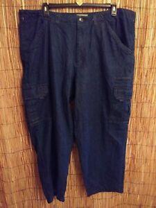 Scandia 44 jambes Jeans cargo 5 de bleu deux Blue poches Denim pour x29 hommes Woods aux AA8qI