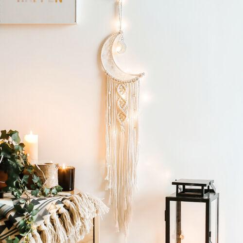 Rustic Macrame Woven Tassel Wall Door Hanging Tapestry Wedding Home Party Decor