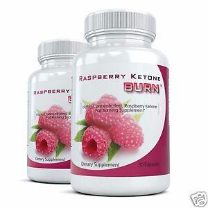 Details About 2 Raspberry Ketone Burn Best Ketones Fat Burning Supplement Natural Diet Pills