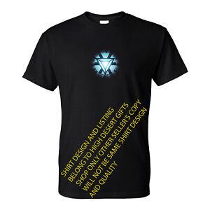 8df7201e1b55 Iron Man Tony Stark Arc Reactor Superhero T-Shirt (S-5XL) NEW Ready ...