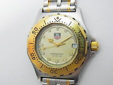 Tag Heuer Professional 3000 Two-tone 38mm Men's Mid Swiss Quartz Watch 935.413