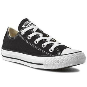 Fougueux Converse-chuck Taylor All Star Ox – Black Sneaker M9166 Unisexe-afficher Le Titre D'origine
