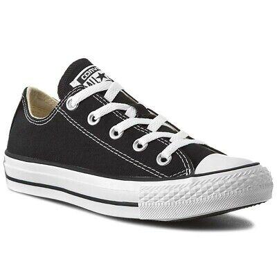 Converse-chuck Taylor All Star Ox – Black Sneaker M9166 Unisex-mostra Il Titolo Originale Facile Da Riparare