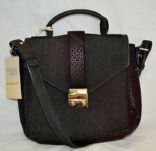 NEW Paul & Joe sister Crossbody MINI SATCHEL bag dawn Noir 24cm x 22cm RRP £110