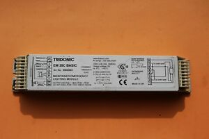 Details About Tridonic Em 35c Basic Maintained T5 Emergency Lighting Module 6 0v 4ah X 5 Cell
