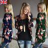 Womens Outwear Boho Irregular Long Sleeve Wrap Cardigans Casual Loose Coat Tops