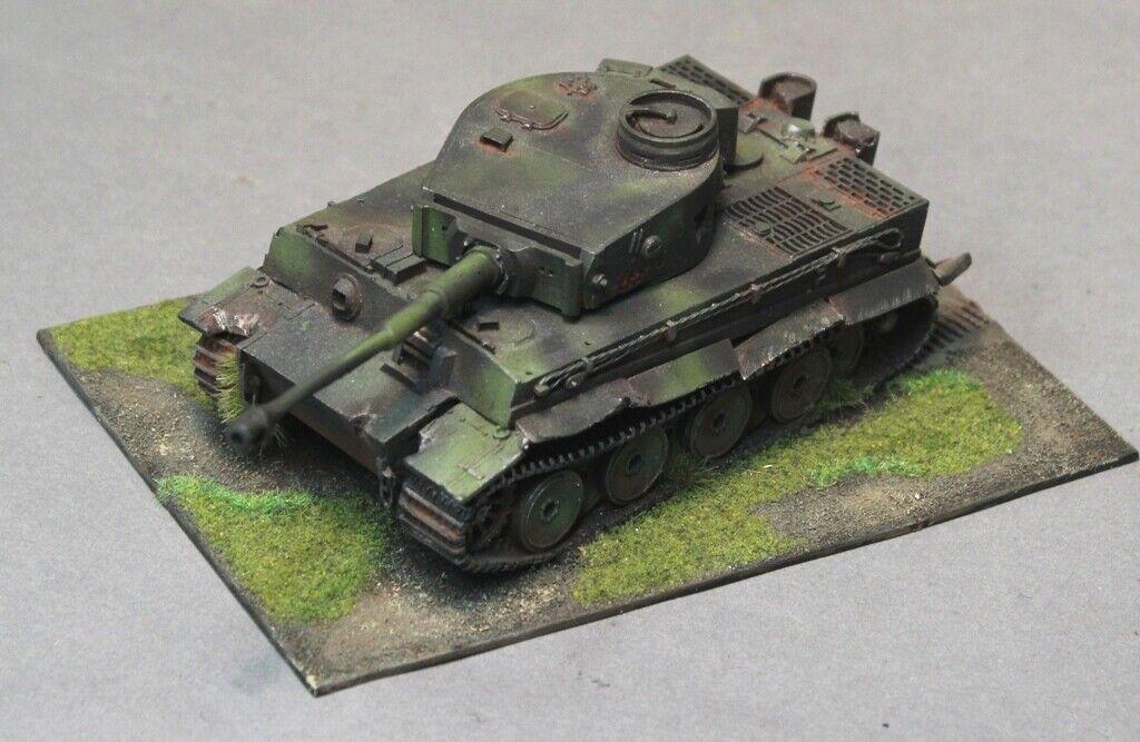 Bien pintados Warlord Juegos Perno acción alemán dañado Tiger