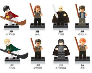 Harry-Potter-Hermione-Malfoy-Ron-Snape-8-Mini-figures-Building-Bricks-Toy-Blocks