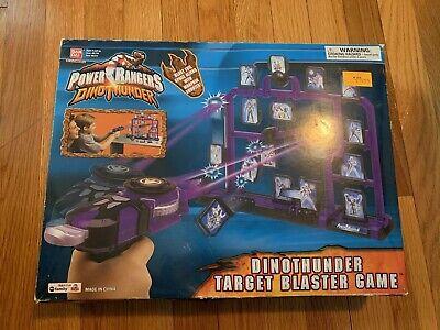 New Power Rangers Dino Thunder Target Blaster Game Ebay