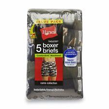 ed11802ebe008e Mens Hanes Boxer Briefs Medium Soft Waistband Underwear Sport ...