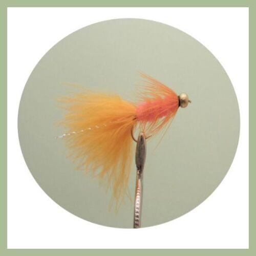 Lanoso biberon colori misti Taglia 8//10 pesca Mosche confezione da 18 Trote Mosche