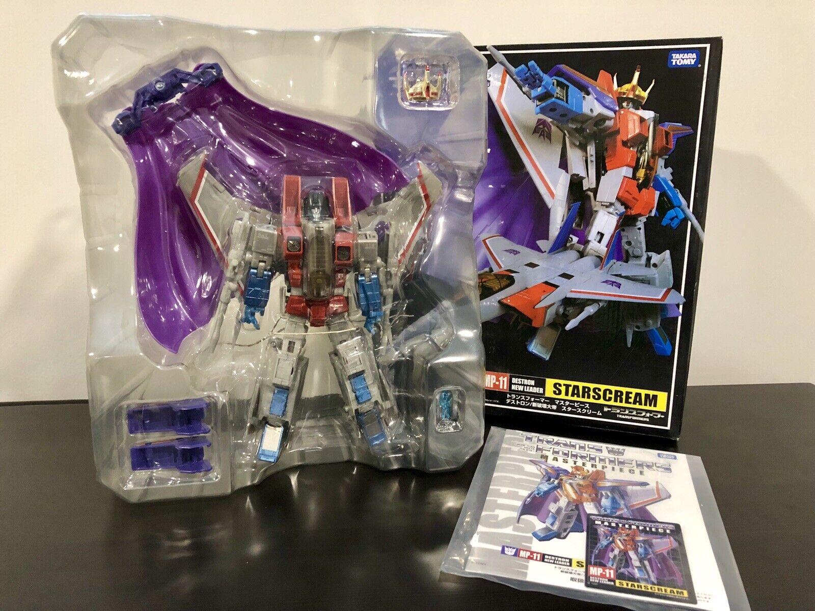 Transformers MP11 estrellascream Masterpiece US  Seller nuovo