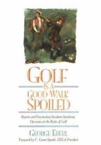 A good walk ruined book