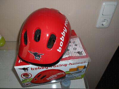 Zielsetzung Bobby Racing Helmet Größenverstellbar Bobby-car Helm Gr.48-54 Ovp StäRkung Von Sehnen Und Knochen