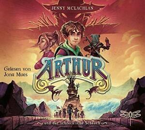 ARTHUR-UND-DER-SCHRECKLICHE-SCHEUCH-MCLACHLAN-JENNY-4-CD-NEW