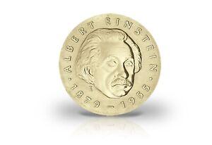 5 Mark Gedenkmünze 1979 DDR Albert Einstein Jaeger-Nr. 1572