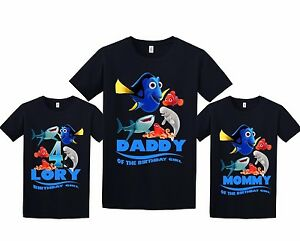 Image Is Loading Finding Dory Birthday Shirt Personalized Custom T