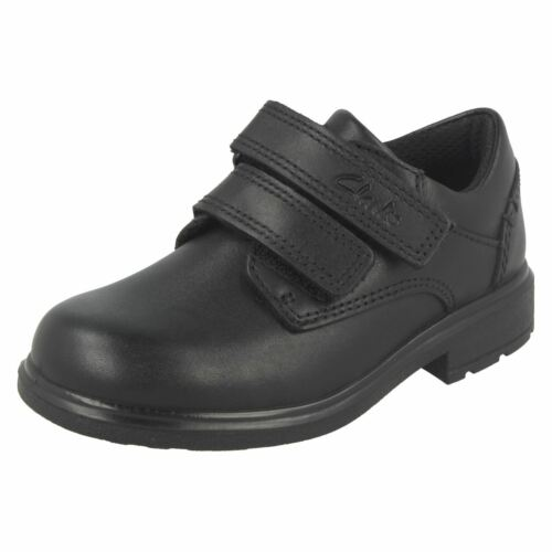 Boys Clarks Smart Double Strap School Shoes Remi Pace