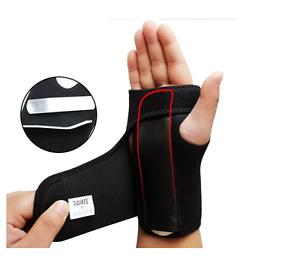 Adjustable-Wrist-Brace-Support-Steel-Splint-Fractures-L-R-Sizes-S-M-L