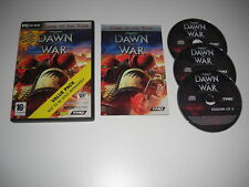 WARHAMMER 40000 DAWN OF WAR 1 GOTY Game Of The Year Pc Cd Rom VP - FAST POST