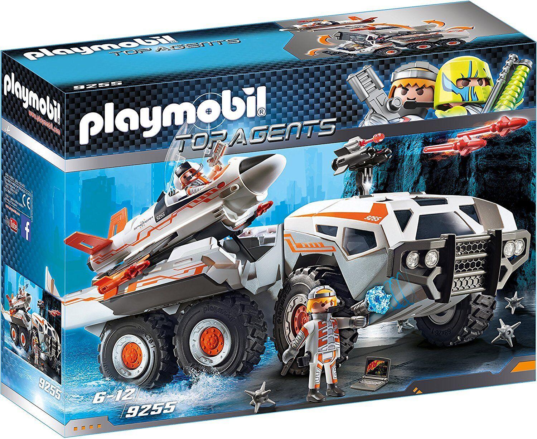 Playmobil Top Agents 9255. Camión Spy Team. A partir de 6 años