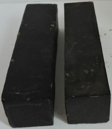 Two African Blakwood Granadilla Wood Blanks 1.75x7.75 Clarinet Woodwinds Parts