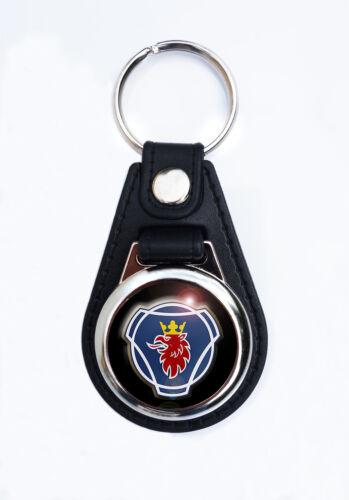 KEY FOB CLASSIC SCANIA TRUCKS SCANIA FAUX LEATHER KEY RING
