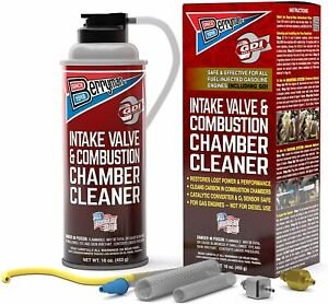 Berryman Intake Valve and Combustion Chamber Cleaner Spray Kit 2611