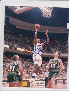 NBA Basketball Glen Rice Heat autographed signed 8x10 photo