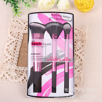 PRO/Real TECHNIQUES Makeup Brushes Core Collection/Starter Kit/Sam+Nic Picks