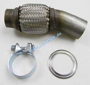 Flexrohr-Hosenrohr-Dieselpartikelfilter-DPF-BMW-E81-E82-E87-E88-E90-E91-E93-N47