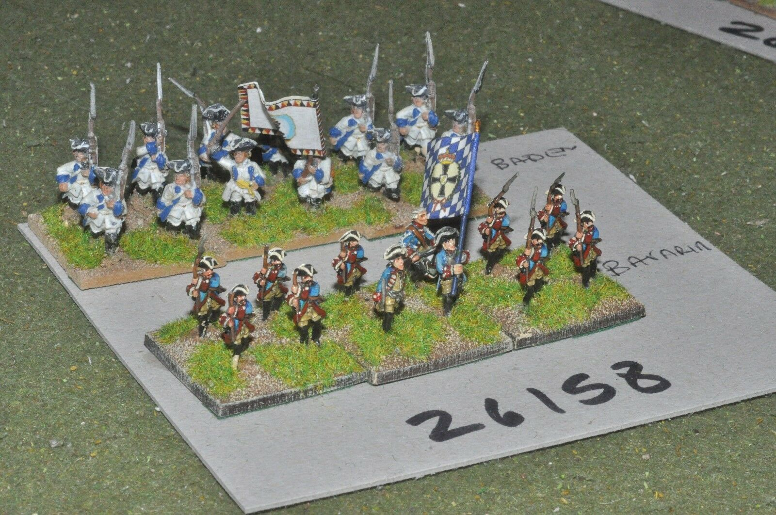 15mm 7YW   french - 2 allied regts. 24 figures - inf (26158)