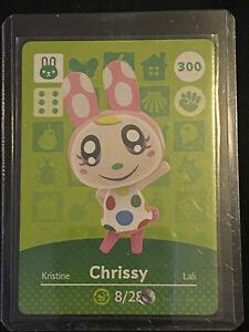 Chrissy # 300 Animal Crossing Amiibo Card Horizons Series 3 AUTHENTIC   eBay
