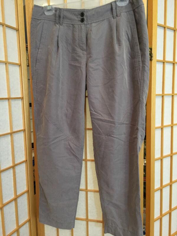 Ann Taylor Loft Ann Gray Abgeschnitten Capri Freizeithose Damen Größe 2 32x 24 SchnäPpchenverkauf Zum Jahresende