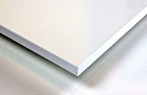 Tischplatte weiß nach maß  Dekorspanplatte Premiumweiß Plattenzuschnitt Nach Maß Tischplatte ...
