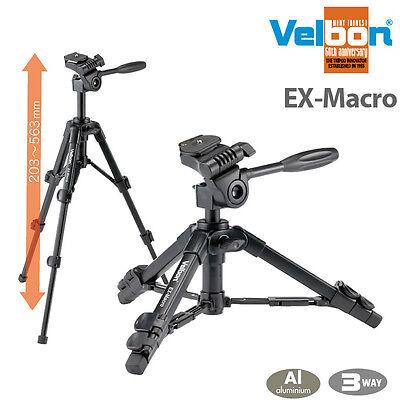 velbon EX-MACRO tripod Kit mini Tripod/light weight Tripod and tripod head