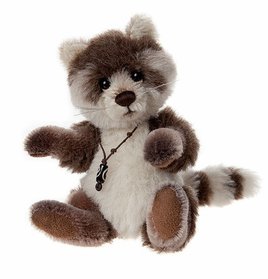 Pitter Patter il Racoon minimo da Charlie Bears-MM645310