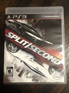 Split-Second-Ps3-Sony-Playstation-3-Box-amp-Game-No-Manual
