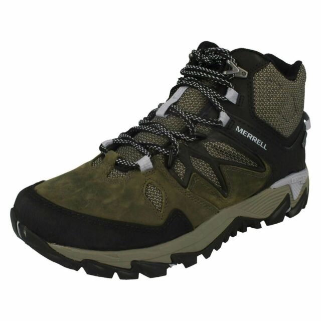 Ladies Merrell Ankle Walking Boots All