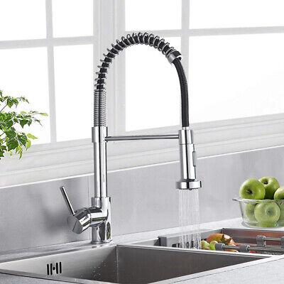 Küchen Spühltisch-Armatur Flexibel Brause Pendelbrause Einhandmische Messing DHL