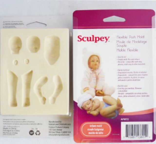 Sculpey Flexible Push Mold - INFANT