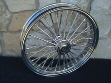 """21X3.5"""" ABS DNA FAT 40 SPOKE MAMMOTH FRONT WHEEL HARLEY TOURING BAGGER 08-17"""