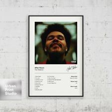 Hot The Weeknd Singer New Art Poster 40 12x18 24x36 T-2717